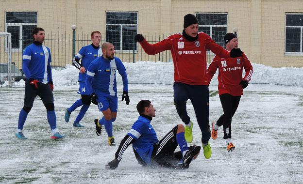Аматори дали «бій» професіоналам: нічия «Гірник-Спорту» і «Олімпії»