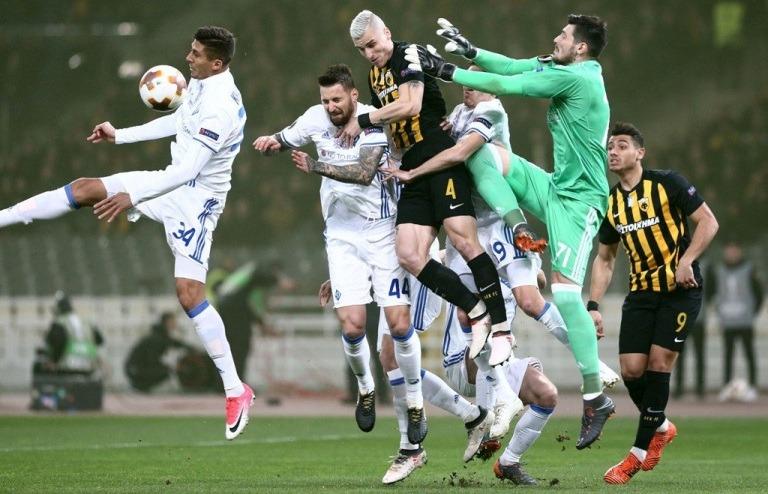 «Динамо» подолало грецький бар'єр