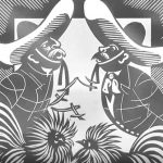 Континенти і книги –  очима художника