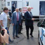 Полтавські медики отримали 42 нові автівки