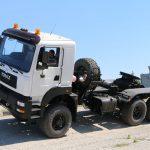 Безкапотний автомат – новий тягач КрАЗ