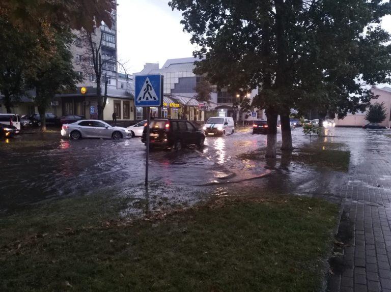 Ріки на полтавських вулицях