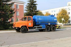 Нова цистерна КрАЗ транспортуватиме  конденсат коксового газу