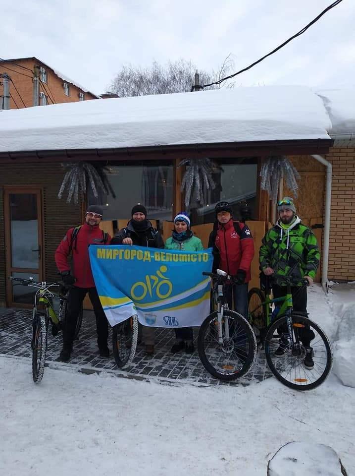 Зимові маршрути бігунів та велосипедистів