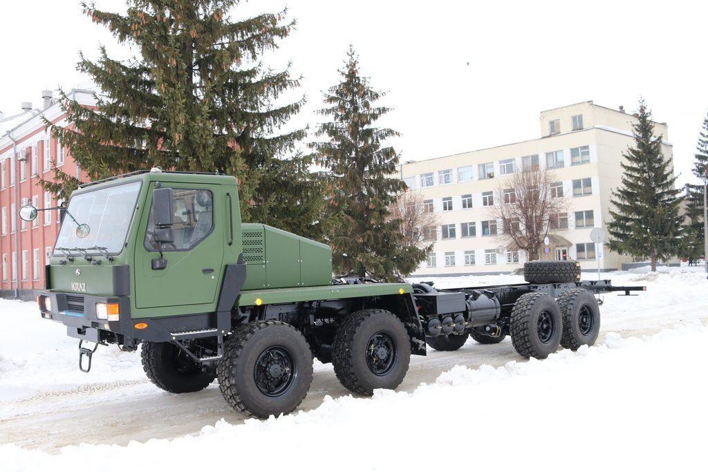 КрАЗ – українським військовим і зарубіжним партнерам