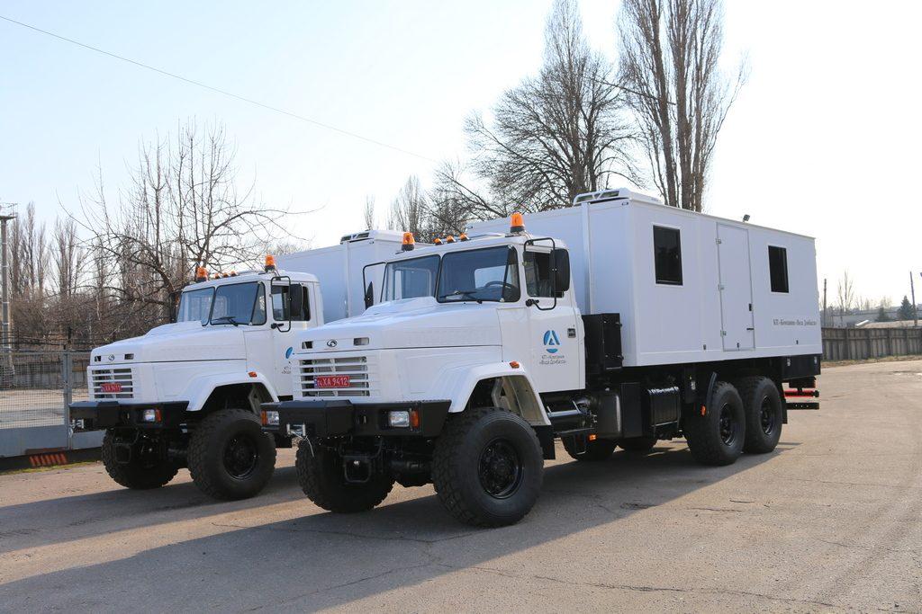 КрАЗ виготовив спецтехніку на замовлення ООН для Донбасу