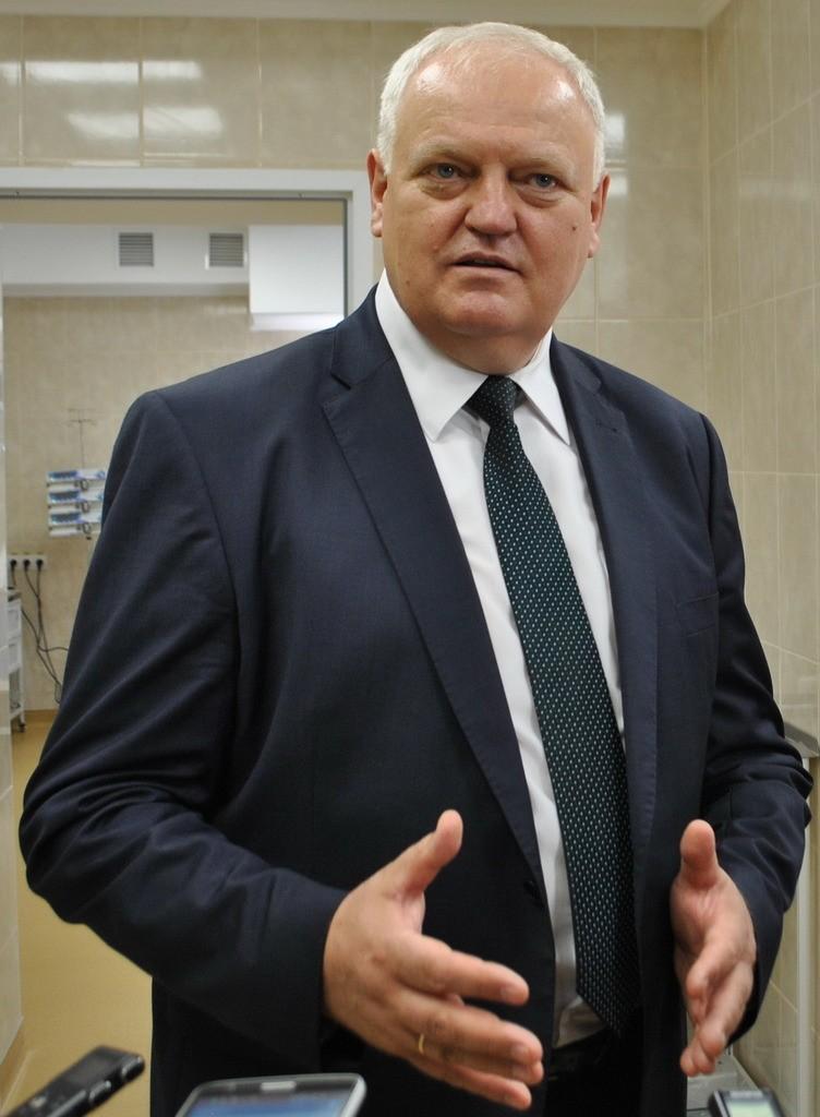 Віктор ЛИСАК: «Завдяки  Світовому банку сьогодні  в історії полтавської  медицини багато чого  робиться вперше»