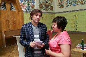 Євген Нищук: міністр культури,  адвокат культури, актор