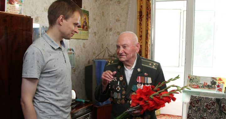 Білоруська медаль –  для ветерана-полтавця