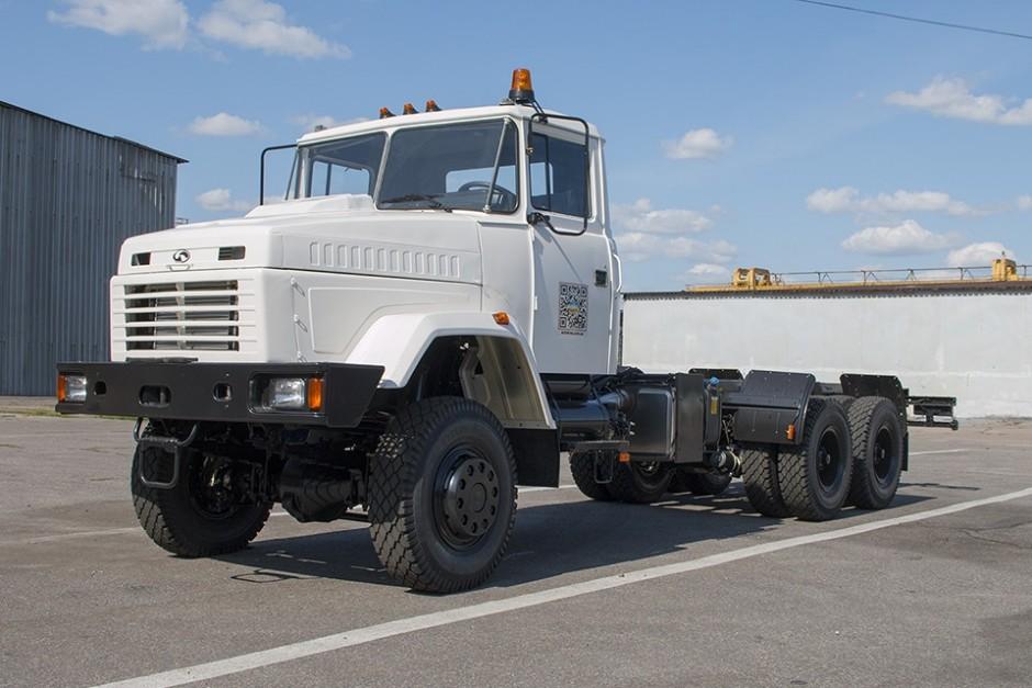В Казахстан відвантажено партію шасі КрАЗ-63221