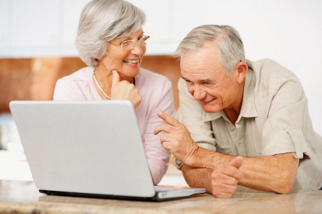 """Як оформити пенсію  """"в один дотик"""""""