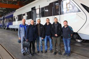 Новий дизель-поїзд ДПКр-3  вийшов на заводські випробування