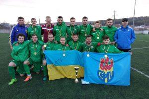 Полтавські дефлімпійці – чемпіони України з футболу