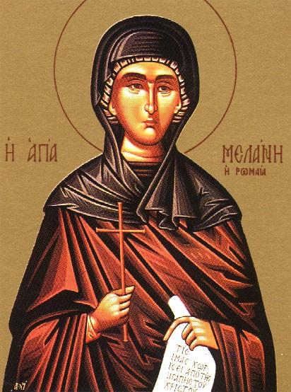 Преподобна Меланія Римлянка і архіпастир Василій Великий