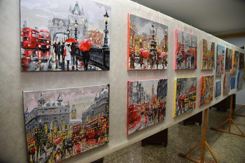 Імпровізація на тему картин улюблених художників