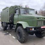 """На базі """"КрАЗа"""" випустили вантажівку з броньованим кузовом-фургоном"""