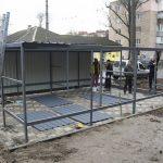 У Полтаві облаштовують криті майданчики  для контейнерів