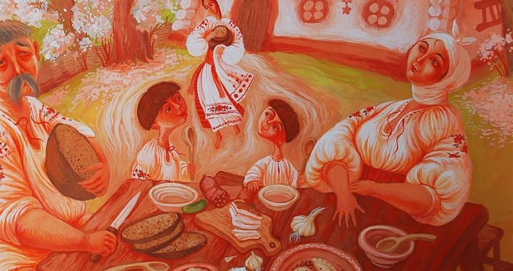 Тарас Шевченко  для сучасного читача «Садок вишневий коло  хати (вечір)»