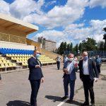 У жовтні в Миргороді  мають здати в експлуатацію  футбольне поле  на стадіоні «Старт»