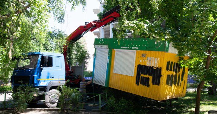 У Полтаві продовжують демонтаж незаконних МАФів
