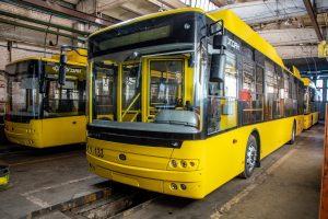 Перші тролейбуси із сорока вже в Полтаві!