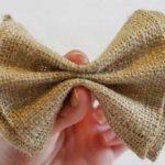 Краватка-метелик – своїми руками