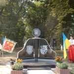У Великих Будищах відкрили пам'ятний знак на честь українсько-шведського союзу