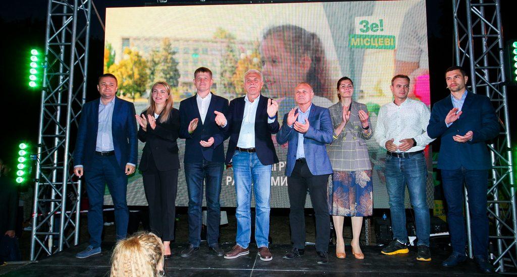 «Запалюємо зміни»: Сергій Іващенко влаштував  у Полтаві яскраве свято на День міста