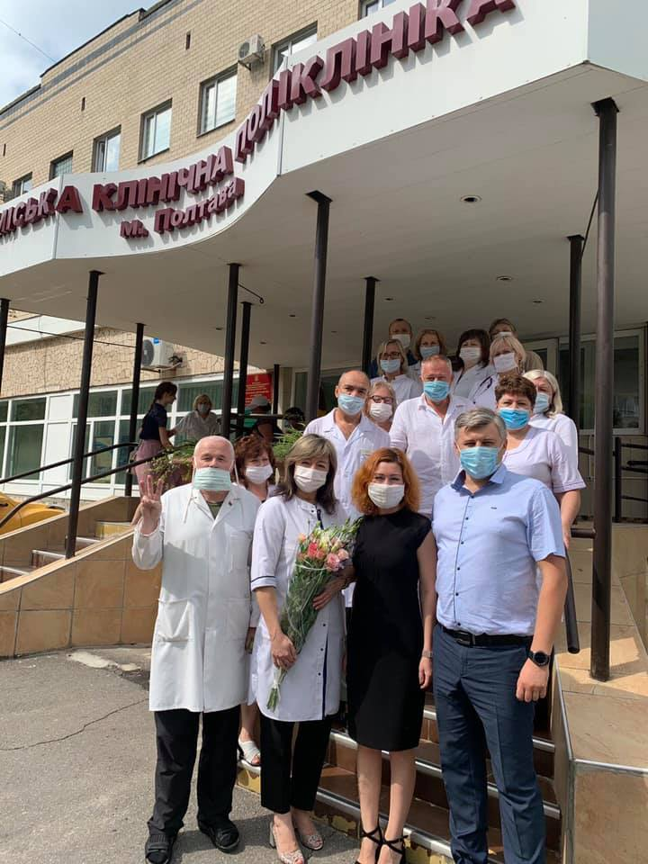 Команда Олександра Удовіченка  «Рідне місто» підвищила зарплати  всім медикам Полтави