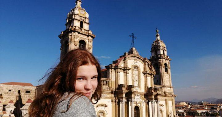Навчання в Палермо  і знайомство з Італією