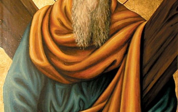 Первозваний апостол,  основоположник  Української Церкви
