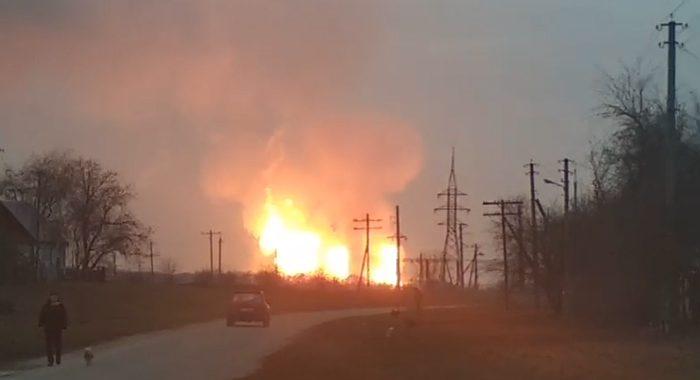 """Ліквідовано аварію  на газопроводі  """"Уренгой-Помари-Ужгород"""""""