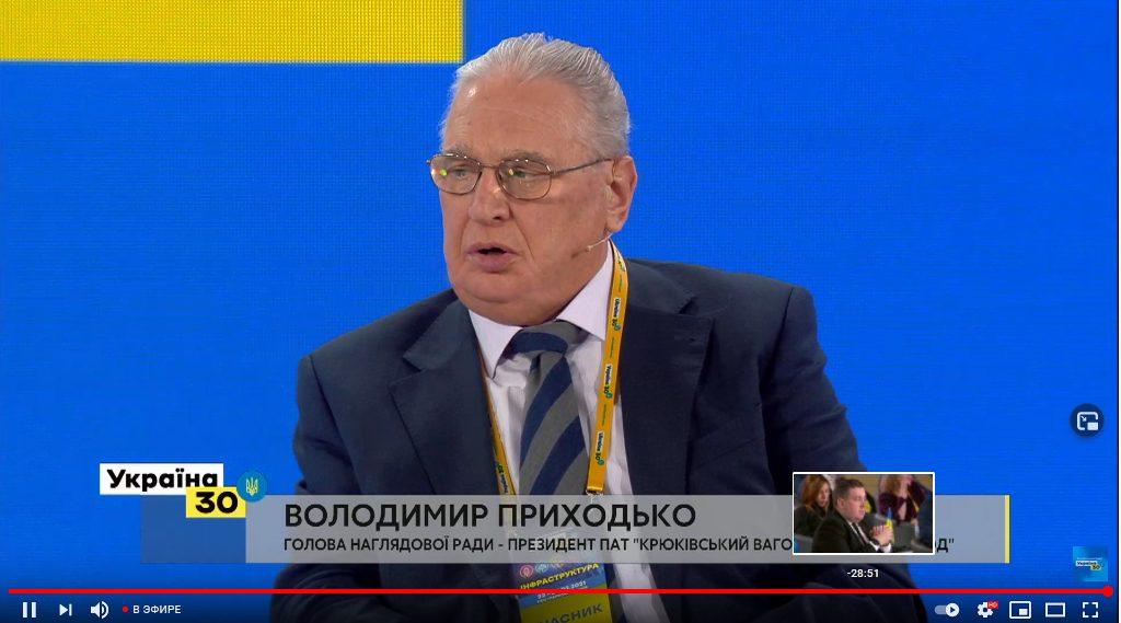 Крюківський вагонобудівний завод пропонує через Укрзалізницю відродити країну,  або Потенціал транспортної інфраструктури