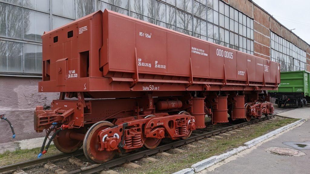 Новий проект крюківських  вагонобудівників