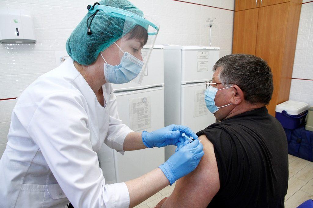 Масова вакцинація осіб  вікової категорії 65+