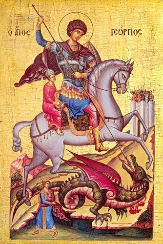 Великомученик  Георгій Переможець