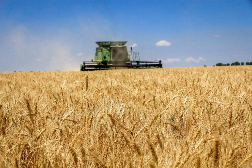 Фермери Полтавщини жнивують