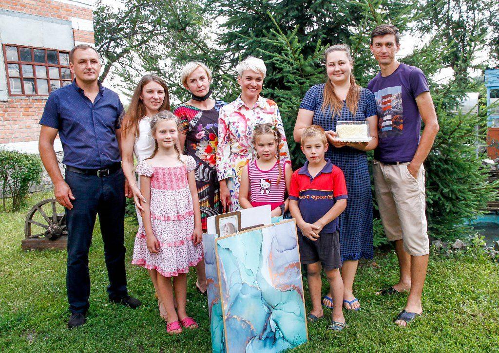 Катерина Рижеченко: «Родина – це насамперед люди, які допомагають  і підтримують одне одного у складних ситуаціях»