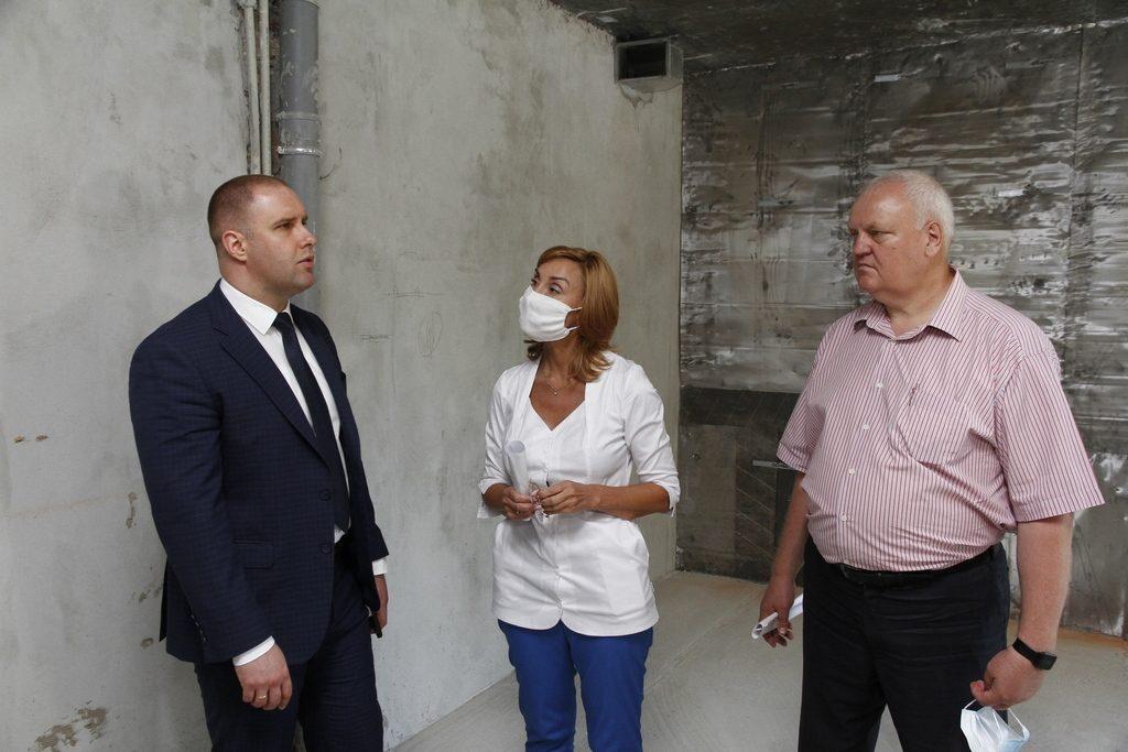У першій міській лікарні Полтави створюють відділення невідкладних станів