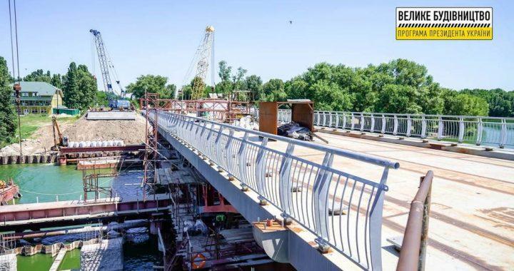 Триває реконструкція мосту через Сулу