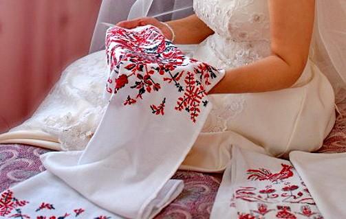Весільні рушники  на щастя, на долю