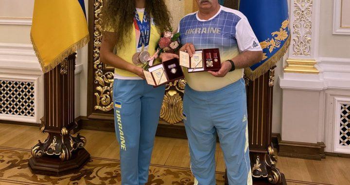 Полтавським олімпійцям вручено державні нагороди
