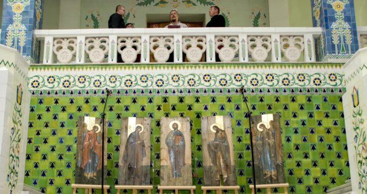Ікони з іменами  загиблих захисників України
