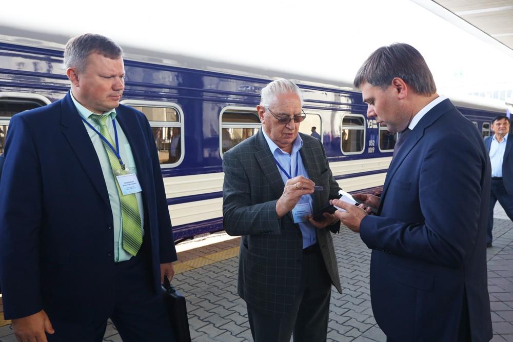 Крюківський вагонзавод на виставці рухомого складу в Києві