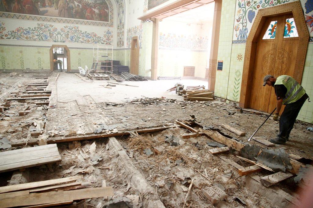 Розпочалася реставрація головного музею Полтавської області