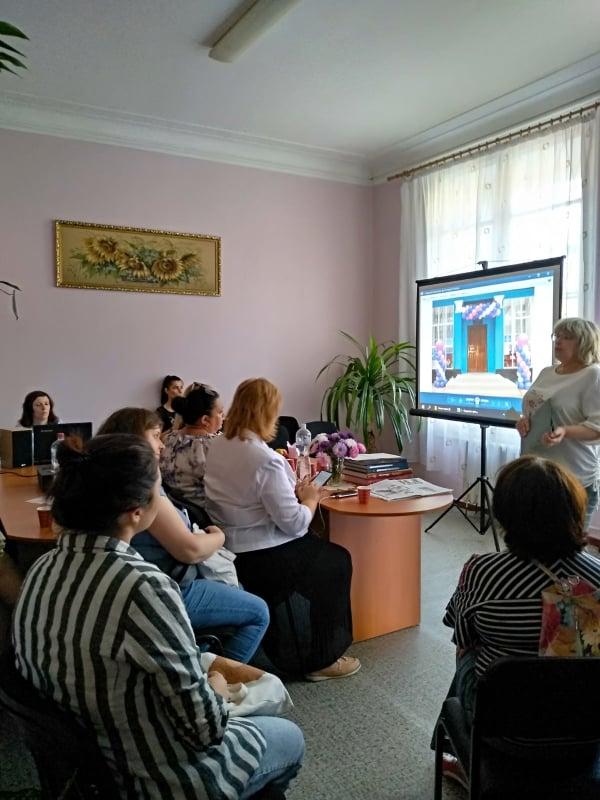 Бібліотека-музей імені Івана Приходька рекламує продукцію КВБЗ